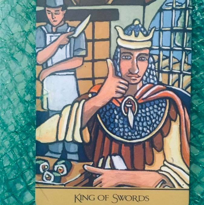 Messages & Mimosas – King of Swords